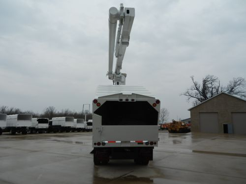 2002 gmc c7500 75 ft work height altec lrv 60 70 elevator unit